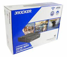 "KICKER 46-HS10 360W Powered Subwoofer Under Seat 10"" Built in Amp & Power Kit"