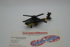 Vintage Galoob Micro Machines Bell AH-64A Apache Military Helicopter Green