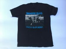 Beastie Boys Check Your Head Mens T-Shirt Large Black Tee