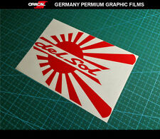 JDM LOGO del sol HONDA civic ek eg eg5 dc2 dc5 s2000 type R Decal vinyl Sticker