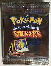 Booster Pack Stickers Artbox sealed pokemon neuf / mint de 1999