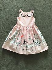 Next Girls Pink & White Dreses Age 5 Yrs