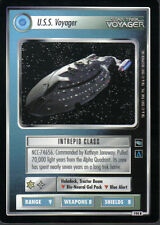 STAR TREK CCG VOYAGER RARE CARD U.S.S. VOYAGER