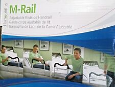 "BRAND NEW IN BOX ""HART MOBILITY"" M-RAIL/MR400 BEDSIDE ADJUSTABLE RAILING SUPPORT"