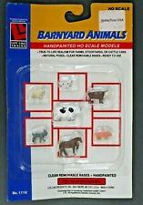 Life Like Trains 1/87 HO Scale Barnyard Animals Item No. 1118
