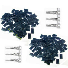 100 Sets 3 Pin Male Female Housing & Pin Connector For RC JR Futaba
