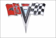 NEW 4-pc Complete Body Emblem SET FOR LATE 1963-64 CHEVY C2 CORVETTE STING RAY