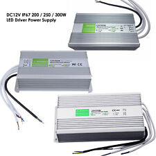 LED Alimentation Électrique Conducteur Transformateur AC 230 - DC12V 200w, 250w,