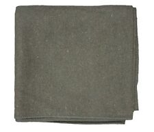 French Army Style 65% Wool Blanket by Fox Outdoor Replica of French Army - Olive