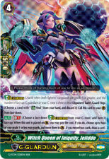 1x Cardfight!! Vanguard Witch Queen of Iniquity, Jeliddo - G-FC04/028EN - RRR Ne