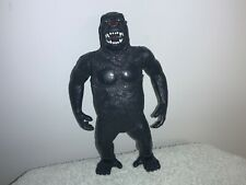 """Vintage Imperial King Kong Action Figure Moving Arms Toy Green Eyes Almost 8"""""""