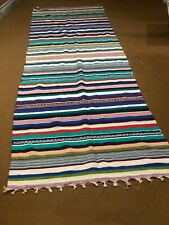 Vintage Handmade dhurrie rug, flatweave dhurrie kilim, vintage traditional kilim