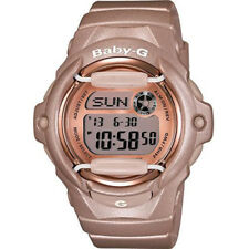 Casio Womens Baby-G Digital Wrist Watch Shock Resistant World Time