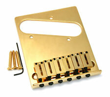 Fender 6-Saddle American Series Telecaster Bridge Assembly (Gold)