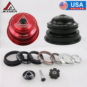"""JESSICA 44-55mm Tapered Cycling IS Headsets 1-1/8"""" Threadless Sealed Bearings US"""