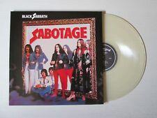 BLACK SABBATH Sabotage LP GATEFOLD CLEAR VINYL EARMARK OZZY OSBOURNE NO CD