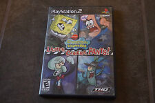 SpongeBob SquarePants: Lights, Camera, Pants (Sony PlayStation 2, 2005) *Tested