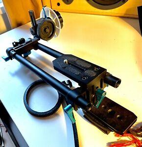 FOTGA DP500II Quick Release 15mm Rail Rods+Follow Focus DSLR HDSLR DV rig