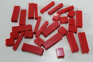 LEGO 28 Paneele Säule Wand Stütze 1x2x2 1x1x5 1x2x5 2453 2454 rot red #1821
