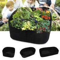 Large Garden Planting Bag Foldable Breathable Flower Vegetables Grow Pot Pouch