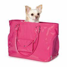 Dog/Cat/Pet/Carrier/Purse/Tote/Bag - Z & Z - Raspberry - Brite Patent-Small- NEW