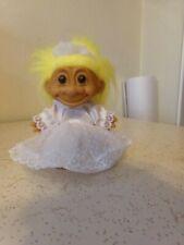 Russ Wedding BRIDE Doll Wedding Dress Yellow Hair