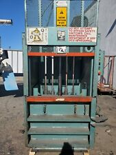 Industrial trash compactor, good condition, Piqua series baler 30