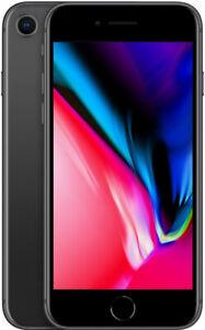 iPhone 8 - Unlocked 64GB - Gray - Good