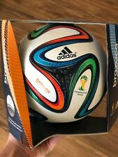 Genuine Adidas Brazuca 2014 World Cup Fifa Official Match Ball Soccer Size 5