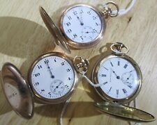 Lot of 3 very nice running  pocket watches NO RESERVE
