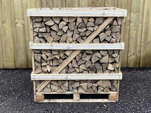 Jumbo Crate Premium Kiln Dried Hardwood Logs - Quality Firewood