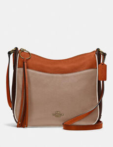 NWT 100% Authentic Coach Chaise Crossbody In Colorblock