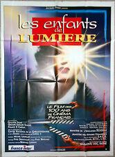 Affiche LES ENFANTS DE LUMIERE Asséo MILLER Corneau LESTRINGUEZ 120x160cm