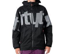 32 THIRTYTWO Lowdown Jacket Men Snowboard Ski 8k Waterproof Shell black XL
