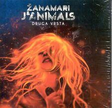 ZANAMARI  J & ANIMALS CD Druga vrsta Album 2011 Crni leptire Miso Kovac Hitovi