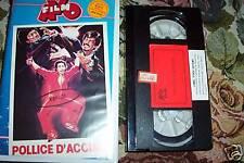 [2192] Pollice d'acciaio (1978) VHS rara Avofilm