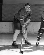 1959 Minnesota Gophers Herb Brooks Glossy 8x10 Photo College Hockey Pose Print