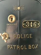 gamewell police call box number plate