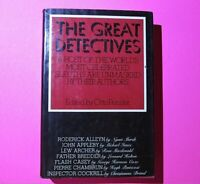The Great Detectives Edited by Otto Penzler 1978 First Edition 1st Print HC DJ