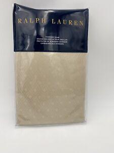1 LUXURY RALPH LAUREN BEDFORD JACQUARD STANDARD SHAM MSRP $185 BRAND NEW NIP