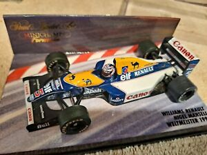MINICHAMPS WILLIAMS FW14B NIGEL MANSELL #5 FORMULA 1 CHAMPION 1992 1/43