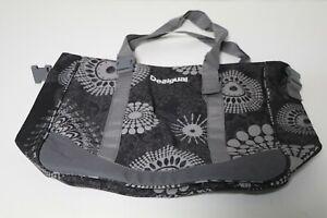 Desigual Sport bols aif Handtasche, 50 x 35 x 13 cm, grau-metallic, mit Fehler !