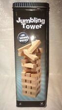 Solid Wood (48) pieces Jumbling Tower In A Tin-Classic Games