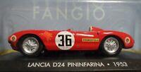 Lancia D 24 Pininfarina 1953  Juan Manuel Fangio Formula 1 1:43 Diecast