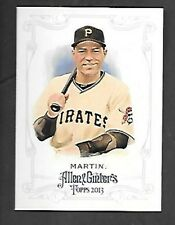 RUSSELL MARTIN  2013 TOPPS ALLEN & GINTER SP #334 PIRATES  FREE COMBINED S/H