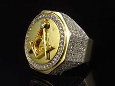 Gioielli da uomo in argento sterling con diamante