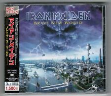 Sealed IRON MAIDEN Brave New World JAPAN CD TOCP-53775 w/OBI 2006 reissue FreeSH