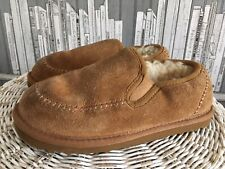 Ugg Australia Kids Size 13 Sheeskin And Suede Slippers . MR8744