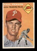 1954 Topps Set Break # 236 Paul Penson VG-EX *OBGcards*