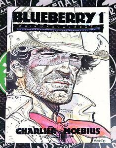 Blueberry Chihuahua Pearl #1 1989 Epic Comics MOEBIUS Art Western RARE